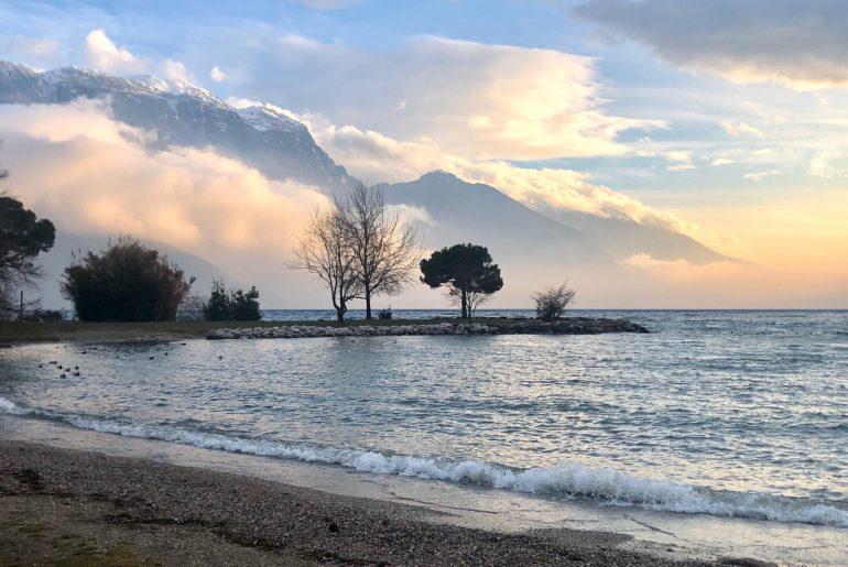 Plaża w Riva del Garda