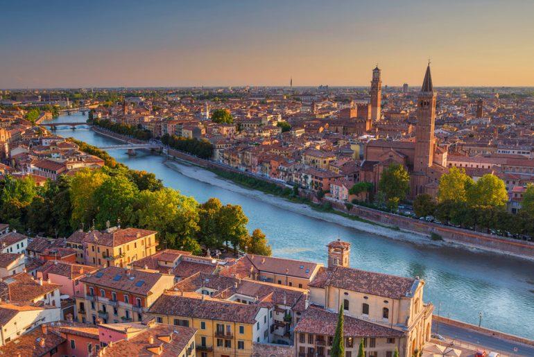 Widok na Wenecję